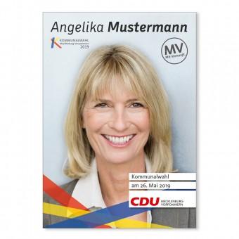 Kandidaten-Plakat A2 - Papier
