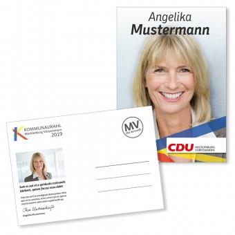 Kandidaten & Motivpostkarte