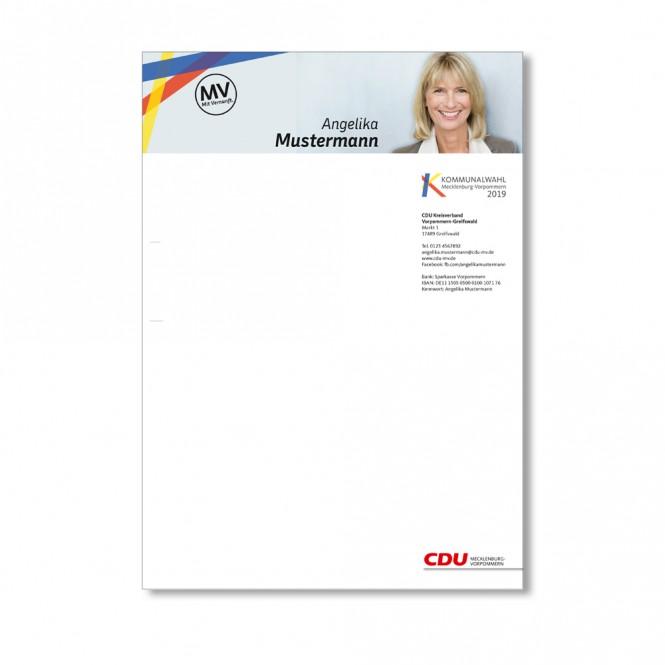 Briefbogen individualisiert